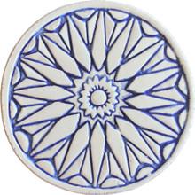 moroccan wall art #1 - blue [15cm]