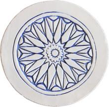 moroccan wall art - border blue [21cm]