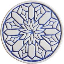 moroccan wall art #2 - blue [15cm]