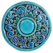 Swirls wall art - firuletes - small        [18.5cm]