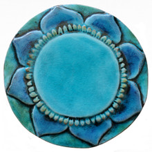 Mantra wall art - turquoise        [19cm]