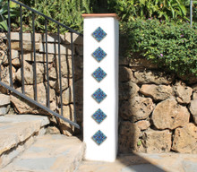 Pillar tiles set - Moroccan taco [8cm]