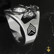"Open Face US Marine Corps Ring   ""Made by Marines for Marines"" available in Sterling Silver, 10k, 14k and 18k White or Yellow gold.   100% Satisfaction Guaranteed"