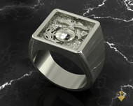 "EGA Gold 10k Signet Ring   ""Made by Marines for Marines"" available in Sterling Silver, 10k, 14k and 18k White or Yellow gold.   100% Satisfaction Guaranteed"