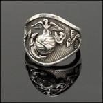 Vietnam/Iwo Jima Sterling Silver Ring