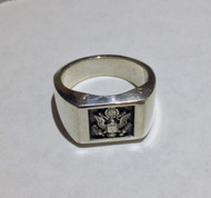 USAF Sterling Silver Signet Ring