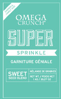 Omega Crunch Super Sprinkle Family Size 1 kg