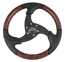 "FOLLETTO WHEEL - DECORATED INSERTS - 3/4"" TAPERED SHAFT - INCLUDES BLACK PLASTIC CAP"