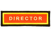 PF Sleeve Title Strip - Director Can only be ordered by Conf Leaders, Club Directors or their designees.
