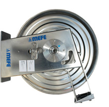 "AUTOMATIC HOSE REEL STAINLESS STEEL - upto  40m 1/2"" HOSE"