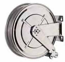 """AUTOMATIC HOSE REEL STAINLESS STEEL FOR 15m 3/4"""" HOSE"""