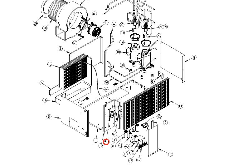 Coleman Air Conditioner Control Board 6535C3209 (Fits