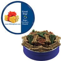 Custom Printed Dog Treat Gift Tins - Full Color Decal