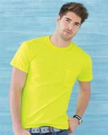 Custom Printed T-Shirts, Gildan 2300 Short Sleeve Pocket Tee