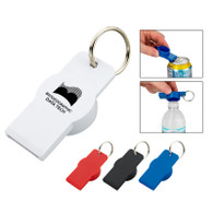 Bottle & Can Opener Keychain with Custom Imprint