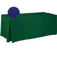Custom Tablecloths - Water Resistant Polyester - Fitted Style