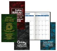Pocket Calendar Planner - 14 Month Planner - Marble