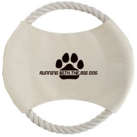 Toss N' Chew Doggy Rope Disk with Custom Imprint