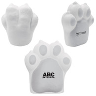 Pet Paw Shaped Stress Reliever, Custom Printed