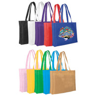 Promotional Full Color Reusable Tote Bags, Non-Woven