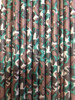 Camo Print Paper Drinking Straws - made in USA