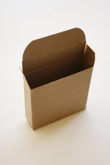 Natural Brown Kraft Boxes - Packaging - 2 1/8 x 7/8 x 2 1/8 Inches