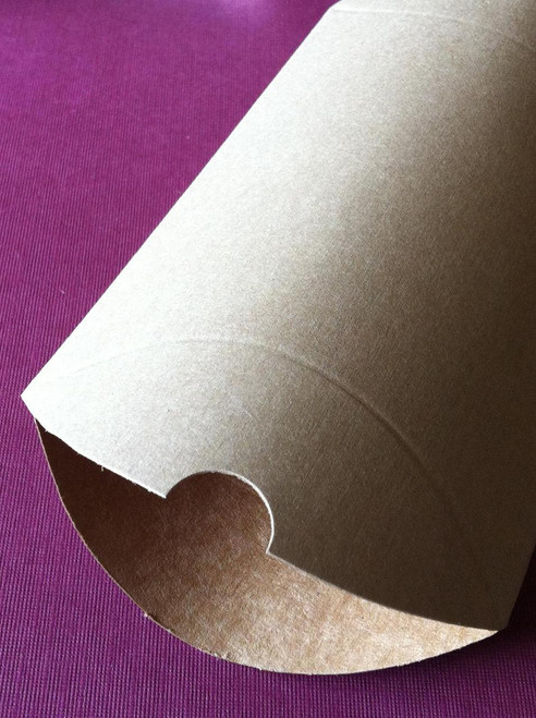 """Pillow Boxes - Brown Kraft - 4 1/2"""" x 4 1/2"""" x 1 1/2"""""""