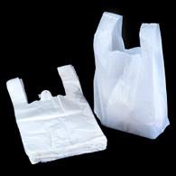 """Retail White T Shirt Plastic Merchandise Bags - 13 x 19 x 23"""""""