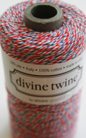 Divine Twine Baker's Twine - Red and Blue - Airmail
