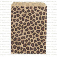 Leopard Print Bags - 4 x 6 inch