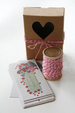 Valentine Packaging Kit -Box-Twine-Card