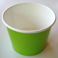 Ice Cream Cups Lime Green 12 oz. Paper