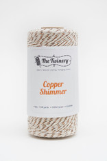 Baker's Twine - The Twinery - Copper Shimmer - 4 Ply Twine