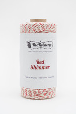 Baker's Twine - The Twinery - Red Shimmer - 4 Ply Twine