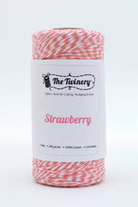 Baker's Twine - The Twinery - Strawberry - Coral - Pink 4 Ply Twine