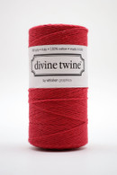 Divine Twine Baker's Twine - Solid Red