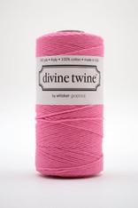 Divine Twine Baker's Twine - Solid Pink Bubblegum