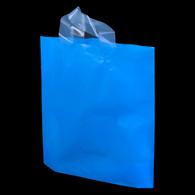 Blue Flexi-Loop High Density Plastic Handle Bag