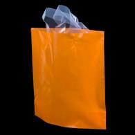 Orange Flexi-Loop High Density Plastic Handle Bag
