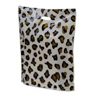 Leopard Print Plastic Merchandise Bag