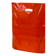 Red Plastic Merchandise Bag
