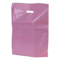 Pink Plastic Merchandise Bag