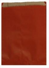 Red Heavyweight Kraft Merchandise Paper Bag