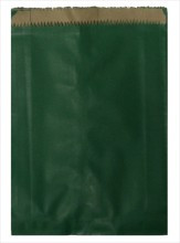 Green Heavyweight Kraft Merchandise Paper Bag
