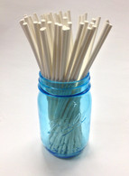 Paper Sticks for Lollipops Cake Pops Candies Chocolates Rock Candy - 8 Inches