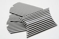 Pillow Boxes - Black Stripe 3 1/2 x 3 x 1 Inches