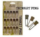 Tim Holtz Ideaology Trinket Pins