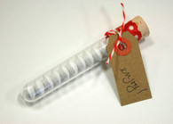 Candy Favor Tube - Clear - M&Ms, Reeses, Mints