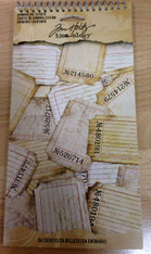 Tim Holtz Idea-Ology Journalistic Tickets