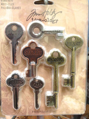 Tim Holtz Word Keys